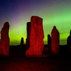 Scottish Outer Islands and the Callanish Stones in Photos