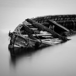One Photo | The Abandoned Boat of Carbost, Skye, Scotland