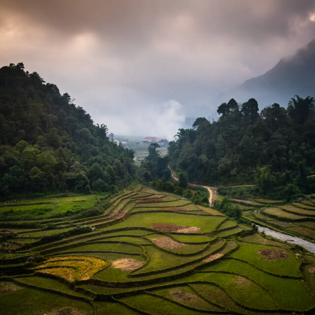 One Photo | Rice Terraces of Tha Pin Village in Sapa, Vietnam