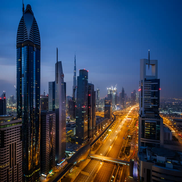 One Photo | Dubai Skyline, United Arab Emirates